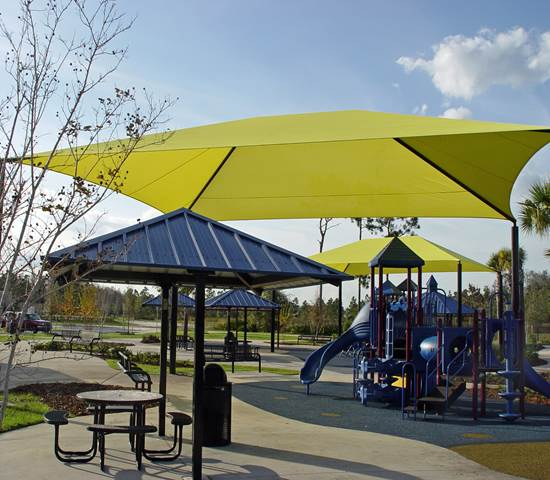 Mega Dome Shade Playground