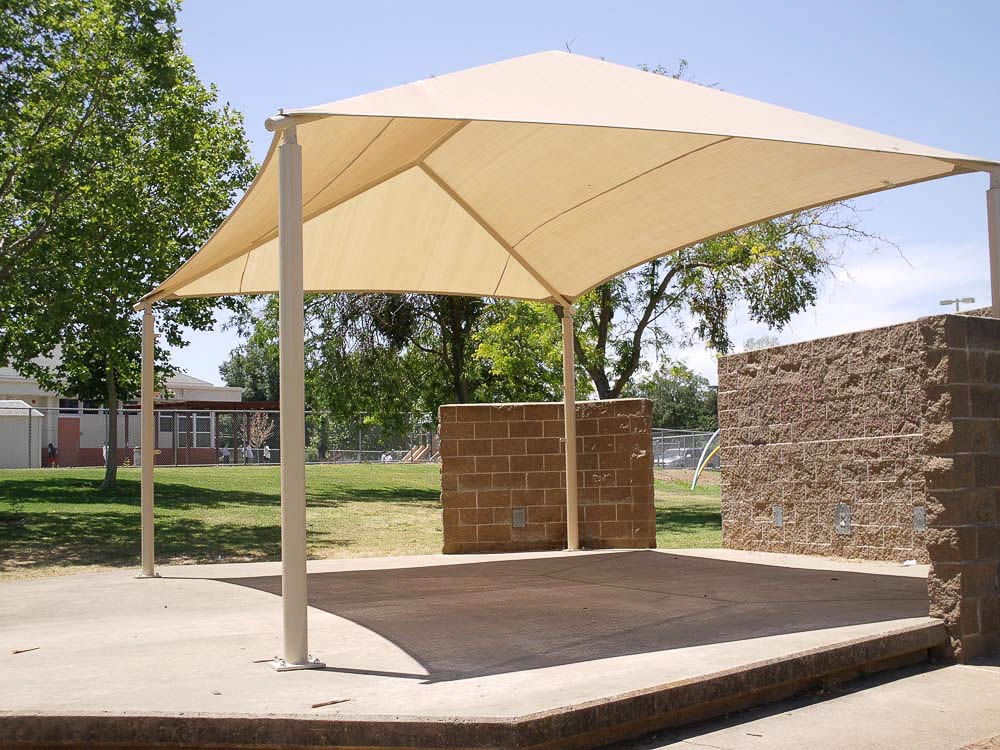 Commercial shade structures supplier boca raton coral for Sun shade structure