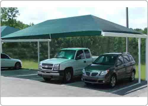 car parking cantilever shade