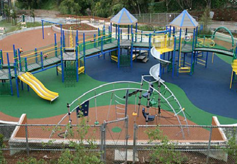 Playgrounds Rubber Surfacing And Resurfacing Price Rubber